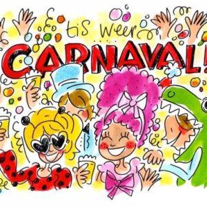 Het is weer carnaval!